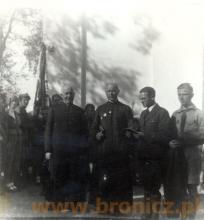 Lata trzydzieste zlot sochaczewskich harcerzy