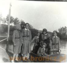 Chodakowscy harcerze nad Bzura lata trzydzieste