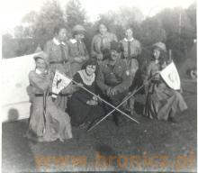 Chodakowscy harcerze lata trzydzieste w środku Ignacy Panfil