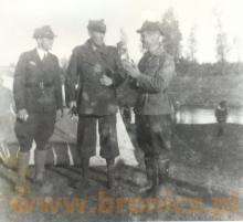 Chodakowscy harcerze lata trzydzieste , pierwszy z lewej Ignacy Panfil