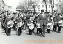 Orkiestra zakładowa pod batutą Leona Zawodnego, lata siedemdziesiąte