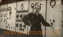 Mój tata Alfred Bronicz ,koniec lat czterdziestych