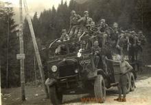 Drużyna harcerska z niepakalanowa, początek lat pięćdziesiatych