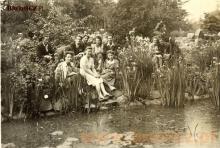 Lata pięćdziesiąte, młodzież z Chodakowa w Żelazowej Woli